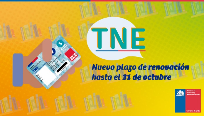 Gobierno anuncia nueva prórroga para la TNE: plazo de renovación se extiende hasta el 31 de octubre