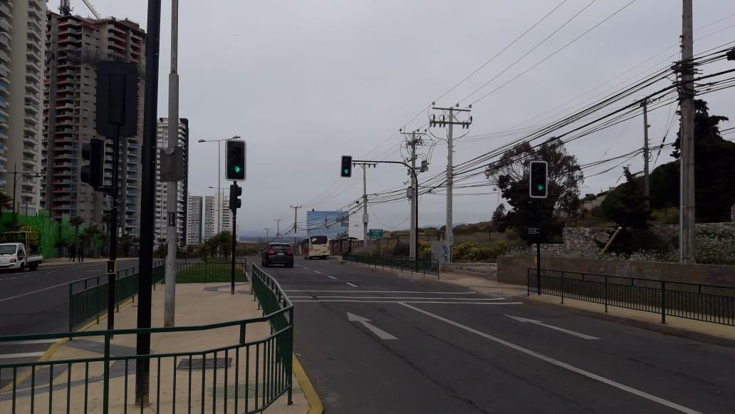 Se puso en marcha nuevo semáforo en la comuna de Concón