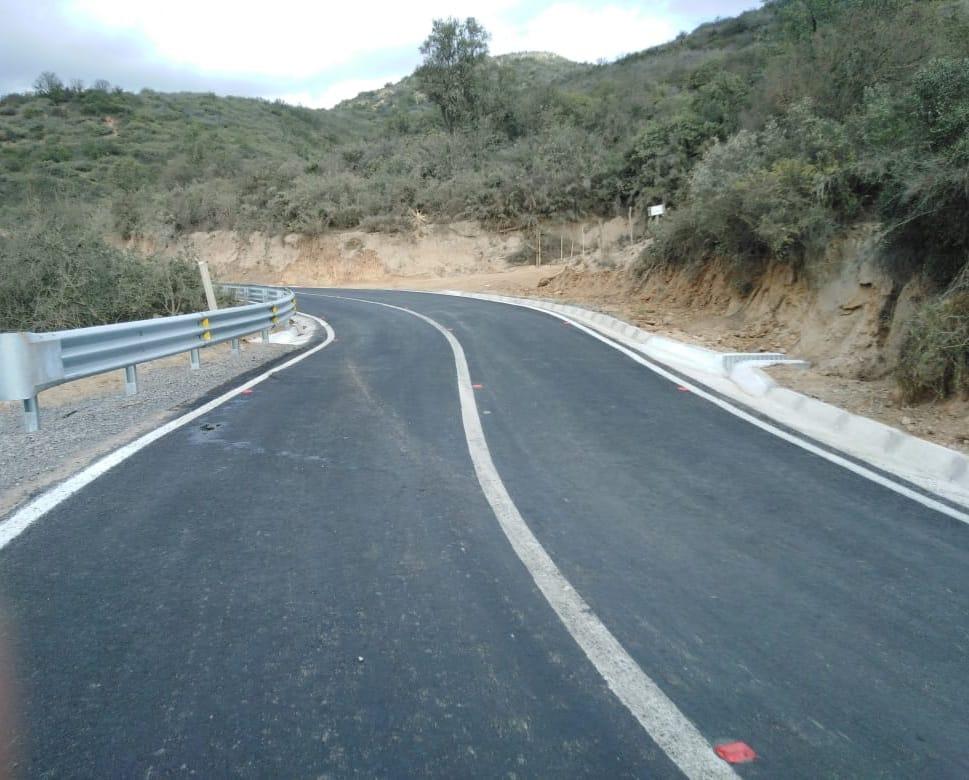 MOP concluyó obras viales de mejoramiento en camino a Colliguay