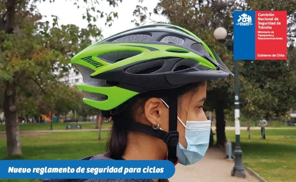 Nuevo reglamento de convivencia vial establece el equipamiento que deben utilizar ciclistas y reglas para el traslado de mascotas