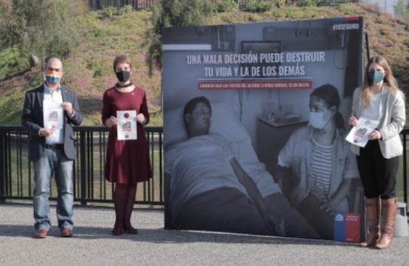 """Con campaña """"El Último Carrete"""", MTT y Senda llaman a transitar con responsabilidad durante las celebraciones de Fiestas Patrias"""