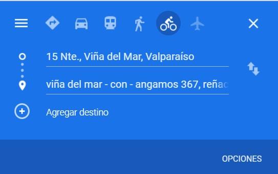 "MTT anuncia próximo debut en Chile del ""Modo Bicicletas"" en Google Maps"