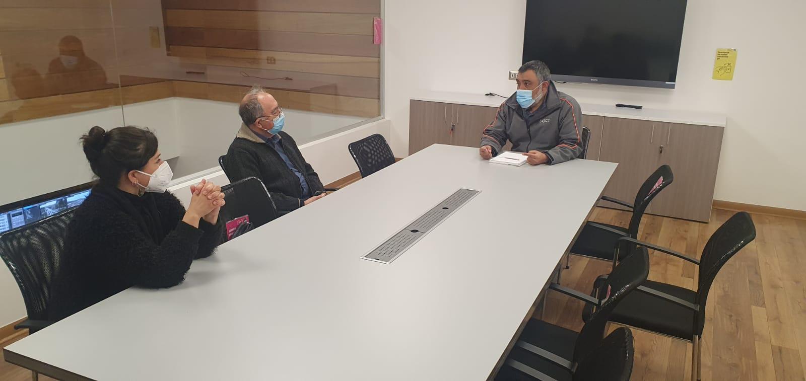 Representantes de Junta de Vecinos de Viña del Mar visitaron dependencias de la UOCT regional